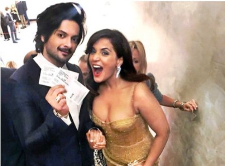 Ali Fazal was dating Richa Chadda