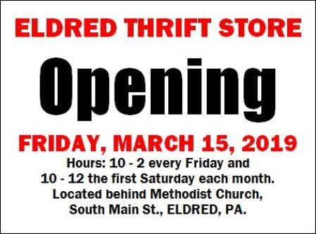 3-22 Eldred Thrift Store