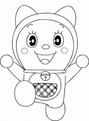 Image Result For Mewarnai Doraemon Dan Kawan Kawan