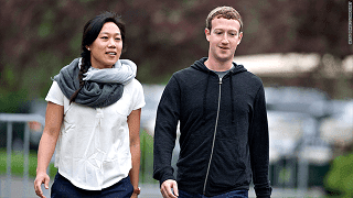 Mark Zuckerberg dan Priscilla