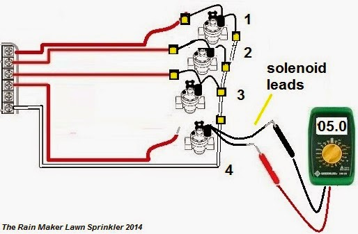 Hunter Sprinkler System Wiring Diagram: Hunter valve wiring