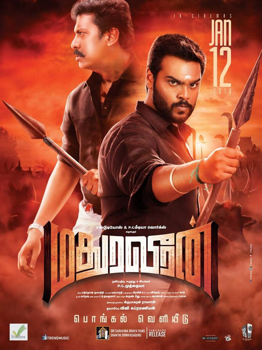 Madurai Veeran (2020) Hindi Dubbed 470MB WEB-DL 480p