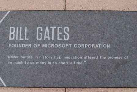 Bill Gates und Warren Buffett veränderten Microsoft.