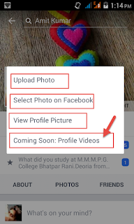 how to set up facebook profile
