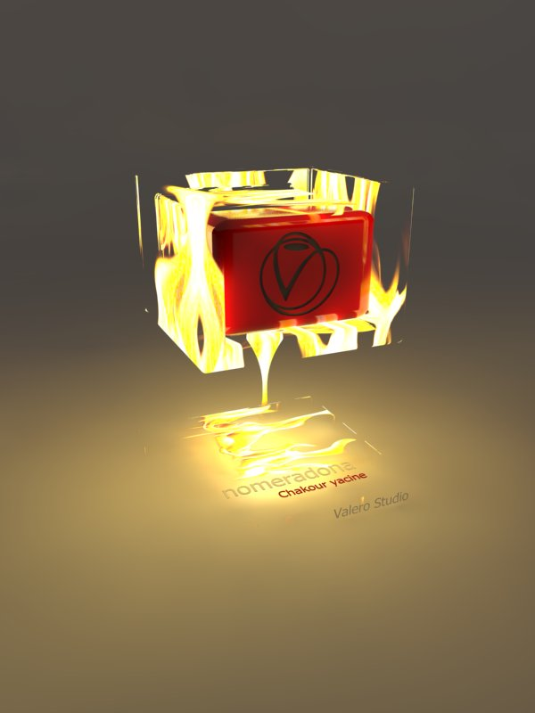 SketchUpVrayMaterials Fire by Chakour Yacine