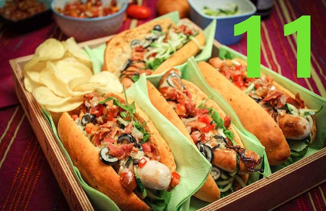 Hotdog auf Italienisch