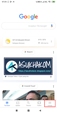 Cara Keluar (logout) berdasarkan Akun Google di Xiaomi