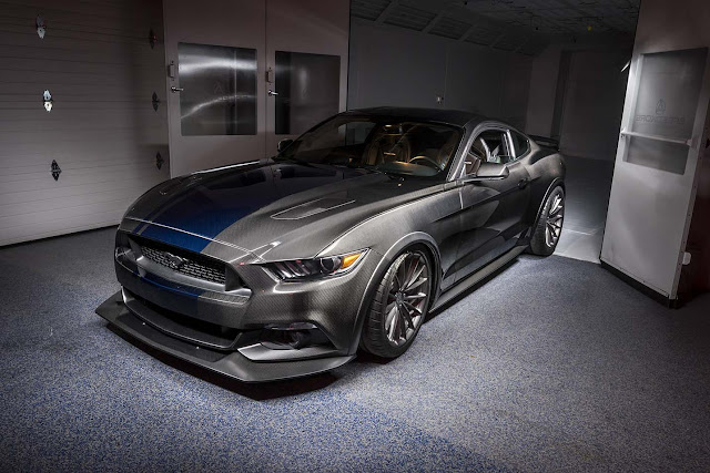 Carbon Fiber Body Panel Mustang GT350R from SpeedKore