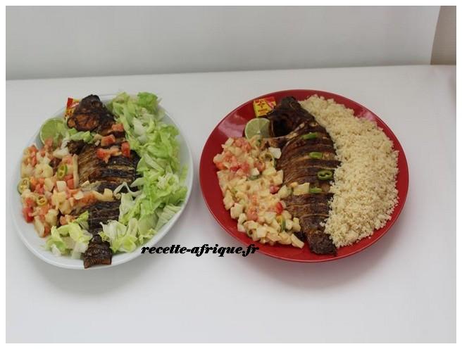 Poisson A La Braise Sauce Moyo Recettes Ivoiriennes Cuisine D