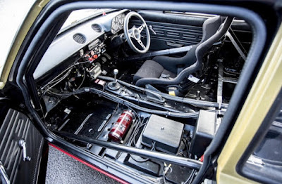 1967 Ford Escort MKI  Rally Car Interior