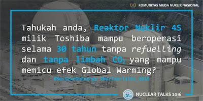 Nuclear Trivia: Reaktor S Tohiba Mampu Beroperasi Selama 30 Tahun tanpa henti
