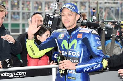 Kecelakaan, Rossi Dilarikan ke Rumah Sakit Rimini