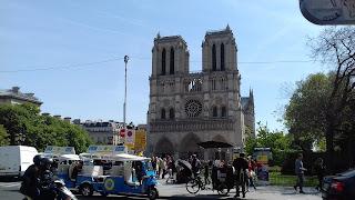 Kathedrale Notre Dame de Paris in Frankreich