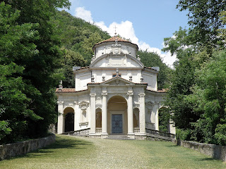 Photo of a chapel on Sacro Monte di Varese