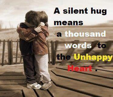 Its All About Quotes Silent Hug