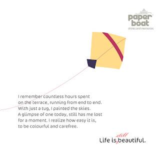 Paper Boat brand kite memories
