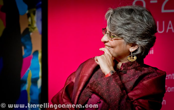 In last three years, Travelling Camera captured various personalities at various places. Here we are sharing photographs of some of the women we met during last 2 months of 2012. Let's check out this Photo Journey and know more about them...The very first photograph show Sharmila Tagore, who needs no introduction. Sharmila Tagore, who born in1946, is an Indian film actress. She has won National Film Awards and Filmfare Awards for her performances. She has led the Indian Film Censor Board from October 2004 till March 2011. In December 2005 she was chosen as an UNICEF Goodwill Ambassador.. More about Shrmila can be checked at - http://en.wikipedia.org/wiki/Sharmila_TagoreAmal Allana is accompanying Sharmila Tagore at Innauguration function of 14th Bharat Rang Mahotsav at Kamani Auditorium, Delhi, India. She is Chairperson, National School of Drama, Delhi.Anuradha Kapur, Director, National School of Drama, Delhi, India..Dr. Anuradha Kapur is a professor of acting and direction at the National School of Drama, New Delhi. She has written widely on theatre and her book, 'Actors, Pilgrims, Kings and Gods: the Ramlila at Ramnagar' was published by Seagull Books, Calcutta, (1993,2004). She has taught and directed in India and abroad and her theatre work is recognized extensively, nationally as well as internationally.Dr. Anuradha Kapur is also one of the founder-members of 'Vivadi', a working group of painters, musicians, writers and theatre practitioners which was formed in 1989. In 2003 Dr. Kapur was invited to curate the performance of 'Window Actors at Work at Body.City', an event citing contemporary Indian culture, at the House of World Cultures, Berlin. She was conferred with the Sangeet Natak Akademi Award for Direction in 2004. Dr. Kapur took over from Dr. Devendra Raj Ankur on the 3rd of July 2007.Kumari Selja, Hon'ble Minister of Culture, IndiShe began her political career in the Mahila Congress becoming its President in 1990. One of the seniormost dalit leaders within the Congress party, she was elected to the 10th Lok Sabha in 1991 from Sirsa in Haryana. She was Union Minister of State for Education and Culture in the Narasimha Rao-led Congress government. Despite the Congress debacle in Haryana in 1996, she was re-elected to the 11th Lok Sabha. Kumari Selja Presenting Certificate of Commendation to Dr. G. Dewan on First Chandigarh Crafts Men. In 2004, she was elected to the Lok Sabha representing the Ambala constituency of Haryana. She was Union Minister of State (Independent Charge) Ministry of Housing and Urban Poverty Alleviation in the Manmohan Singh-led UPA government.On 16 May 2009, she was once again re-elected from the same constituency, making this her second consecutive victory from Ambala and was given an elevation to Cabinet rank holding portfolios of Housing and Urban Poverty Alleviation and Culture...Theatre Artists from Poland ! More photographs from their play can be checked at - CLICK HERENigar Khan, who is one of the popular TV Actress. She was here in Delhi with Saurabh Shukla for her play RED HOT. Have a closer look at this photograph and surely you must have seen this face many times on television. She is Mona Wasu at Kamani, Delhi, India... More photographs of Mona Wasu can be seen at - HEREPreeti Mamgai, Mona Wasu and Nigar Khas !!Ishita's passion for the environment and love for the mountains led her to found Ecosphere with a few like-minded individuals. An alumni of some of India's premier institutes, Ishita has over the years been recognized as amongst India's leading 50 social entrepreneurs. She was voted as a Youth Icon in 2008 by Mtv and a Real Hero in 2010 by CNN-IBN. She has also been recognized as an Ashoka Fellow for being a changemaker.Tania James was raised in Louisville, Kentucky, after a brief stint in Chicago from 0 to 4. She graduated from Harvard University in 2003 with a bachelors degree in Visual and Environmental Studies (filmmaking).Tania James received her Masters of Fine Arts in fiction from Columbia's School of the Arts in 2006. Her work has been published in One Story magazine, Guernica, Elle India, and The Louisville Courier Journal. Her debut novel 'Atlas of Unknowns' was shortlisted for the DSC Prize for South Asian Literature. She lives in Washington DC and teaches creative writing at George Washington University...Pramada Menon is a queer feminist activist working on issues of social justice, gender, sexuality and human rights. She is the co-founder of CREA, an international women's human rights organization and worked as the Director Programs of the organization from 2000 – 2008. Before CREA she was the Executive Director of Dastkar, an organization working to ensure sustainable livelihoods for craftspeople. Pramada is also a stand up performance artist and does a show Fat, Feminist and Free, which examines issues of gender, sexuality, sexual rights and body image.Swati Sahni is currently working as a Senior Consultant to India's Ministry of Human Resource Development on the Right to Education. She supports the National Government on issues related to Educational Policy & Planning and State Governments on the implementation of the Right to Education Act. Prior to her work at the Ministry, she worked on school education with the National Council of Educational Research and Training, Nehru Memorial Museum & Library and Pravah. She also coordinates the Global Young Indian Professionals and Students, a group aimed to develop a stronger community of young Indian professionals and students, with the aim of furthering their professional development and facilitating their contribution to India's political, social and economic development. She has also been awarded the Fulbright-Nehru Masters Fellowship for Leadership Development for the year