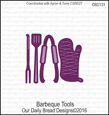ODBD Custom Die: Barbeque Tools