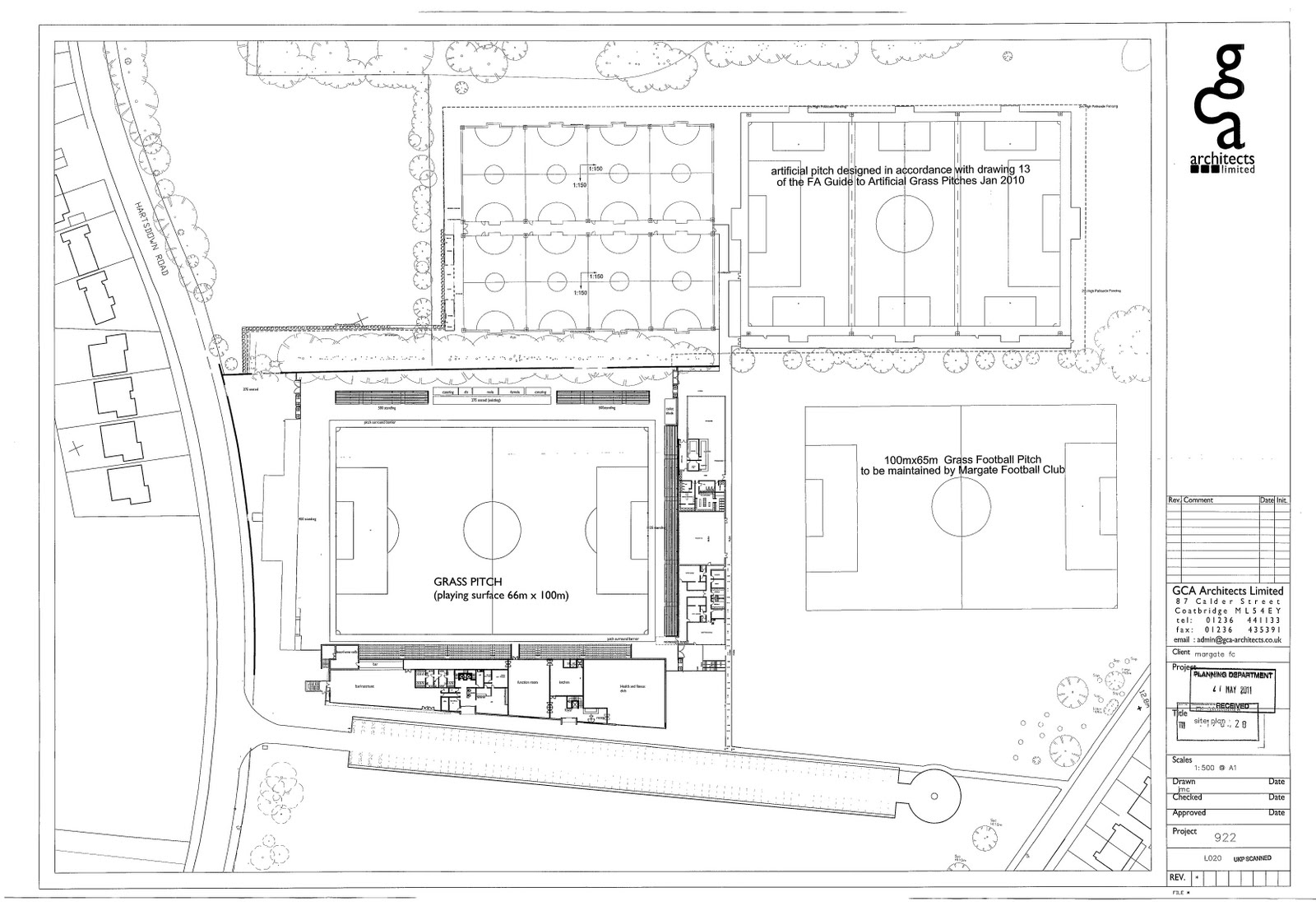 Thanetonline Margate Football Club New Plans For 80 Bed