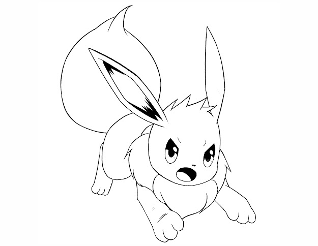 HD Pokemon Eevee Evolutions Coloring Pages Photos - Free ...
