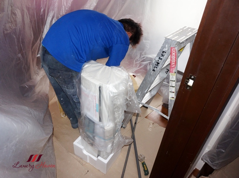 daikin smile series aircon installation review