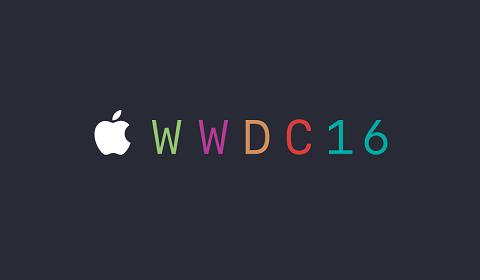 Conférence développeurs Apple 2016