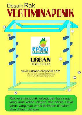 urban hidroponik, urban farming, jasa hidroponik, vertiminaponik