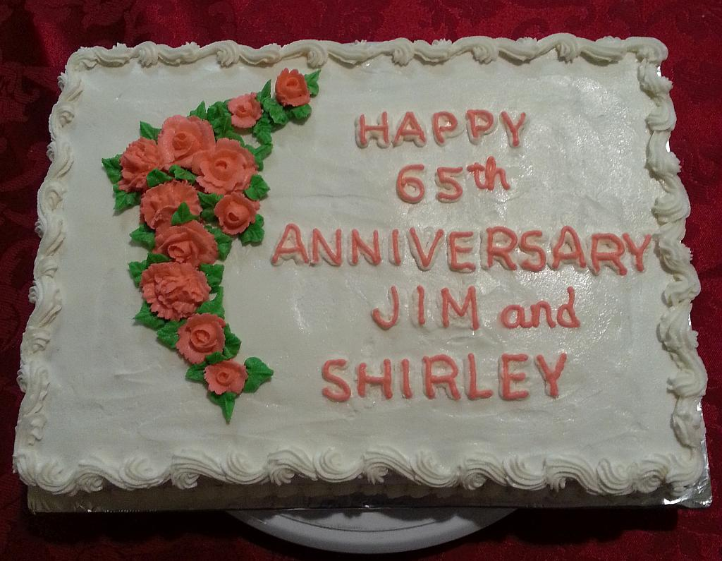 65th Wedding Anniversary Gift Ideas: Cakes By Ruth: 65th Wedding Anniversary