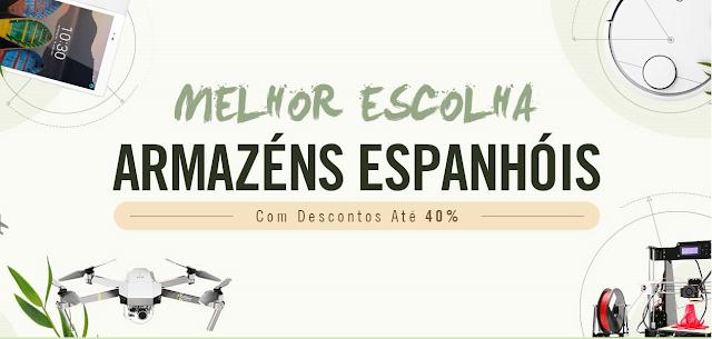 gearbest armazens espanha