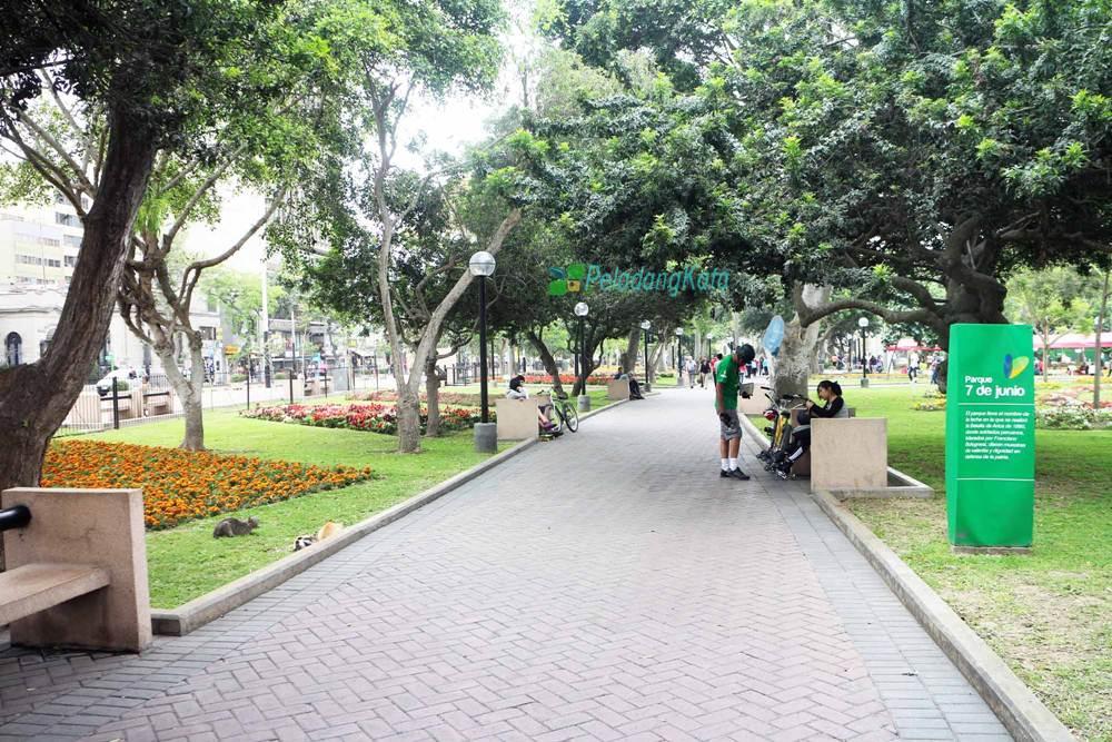 7 de Junio Parque, Lima, Peru