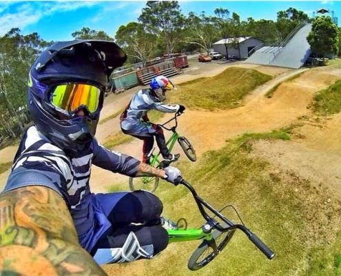 3. Selfie ala Biker