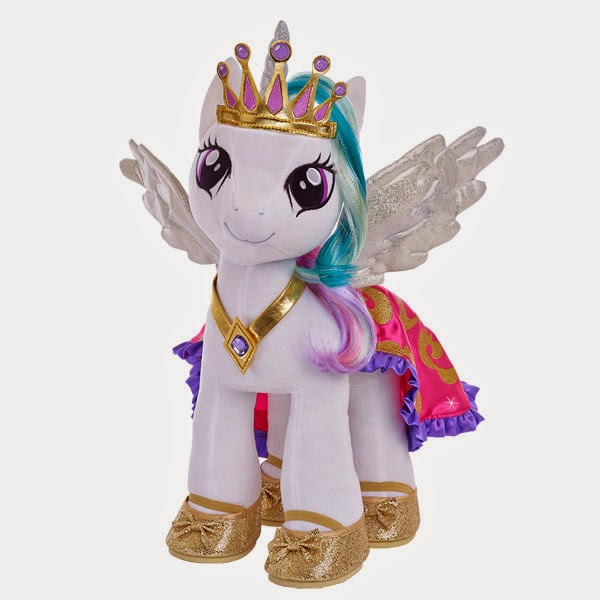 Princess Celestia Build-a-Bear Plush