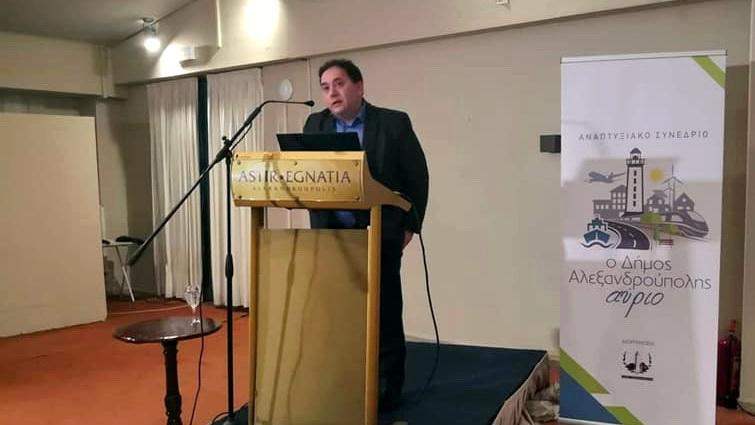 Χρ. Λαμπρίδης: Προτεραιότητα και της κυβέρνησης και του ΤΑΙΠΕΔ η ανάπτυξη του λιμένα Αλεξανδρούπολης