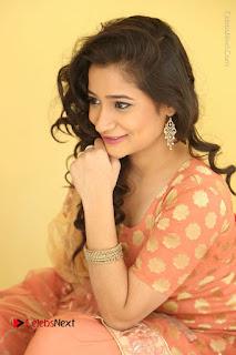 Telugu Actress Santoshi Sharma Latest Stills in Salwar Kameez at HBD Movie Teaser Launch  0105.JPG