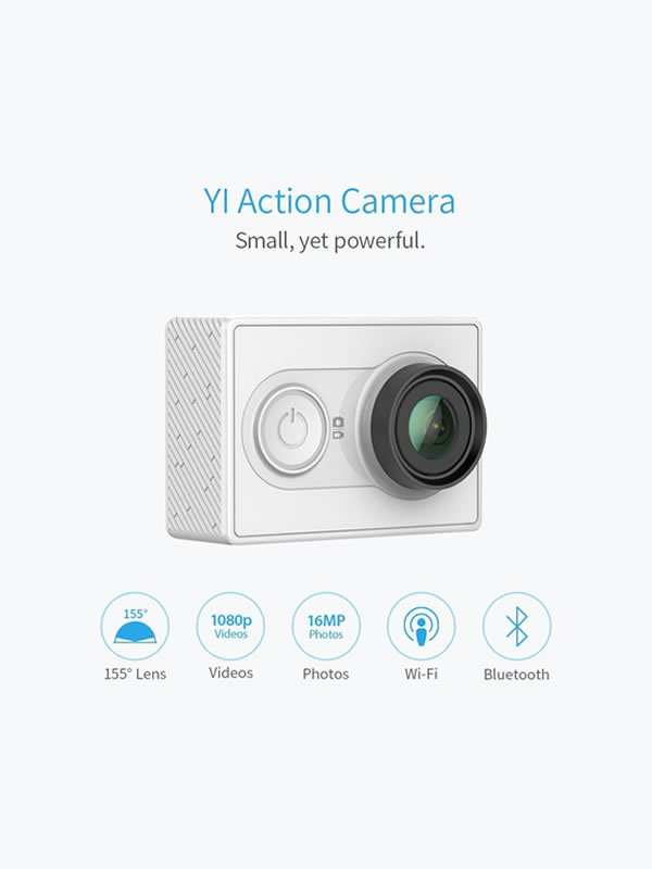 YI Sport Action Camera Full HD 1080P