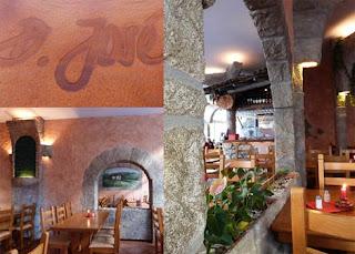 Portugiesisches Restaurant in Hamburg. D. Jose im Portugiesen Viertel
