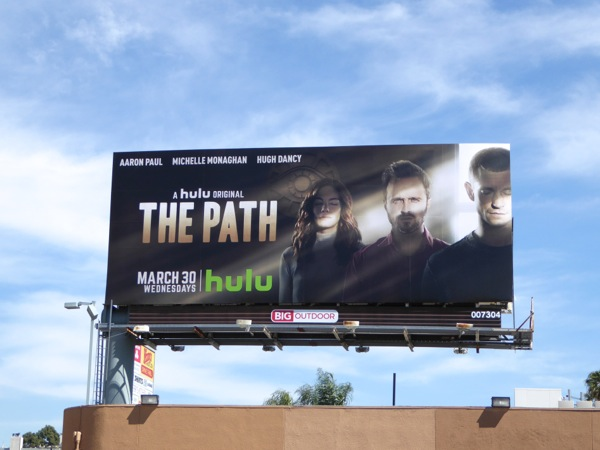 The Path series premiere billboard