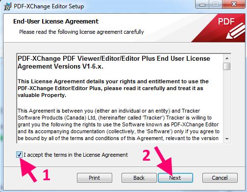 memasukkan pdf xchange editor
