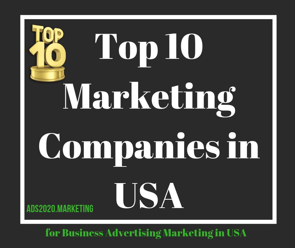 Top 10 Marketing Companies in USA-940x788