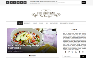 Food Blog Template