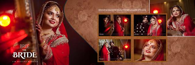 Digital Wedding Photo Album Design 2018 PSD Sheets - StudioPk