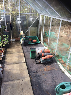 Greenhouse matting
