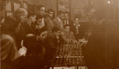 Simultáneas de ajedrez de Àngel Ribera en San Gervasio en 1941