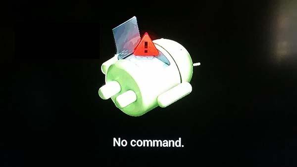 Android tidak ada Perintah