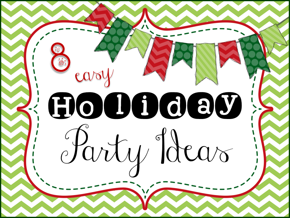 http://onesharpbunch.blogspot.com/2014/12/holiday-party-ideas-12-days-of.html
