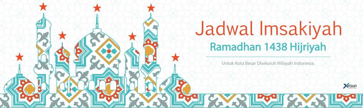 Jadwal Imsakiyah Ramadhan 1438 H 2017