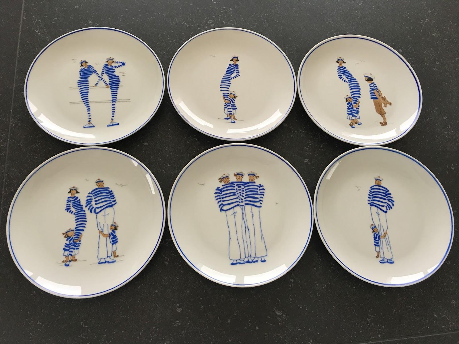 Passion peinture et porcelaine assiettes pour la maison - La maison de porcelaine ...