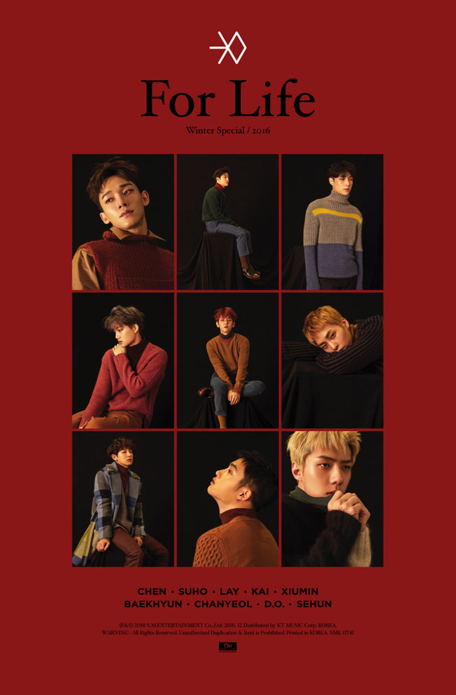 [Mini Album] EXO – For Life – Winter (Special Album 2016)