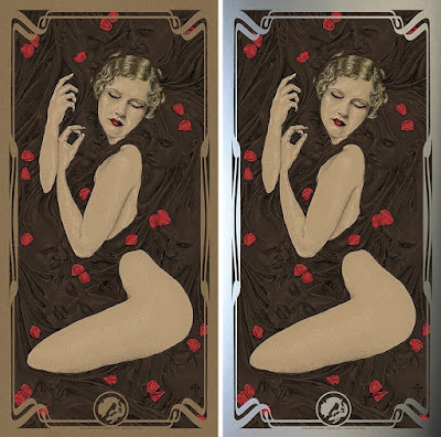 """Chocolate"" Vices Screen Print by Timothy Pittides x Bottleneck Gallery"