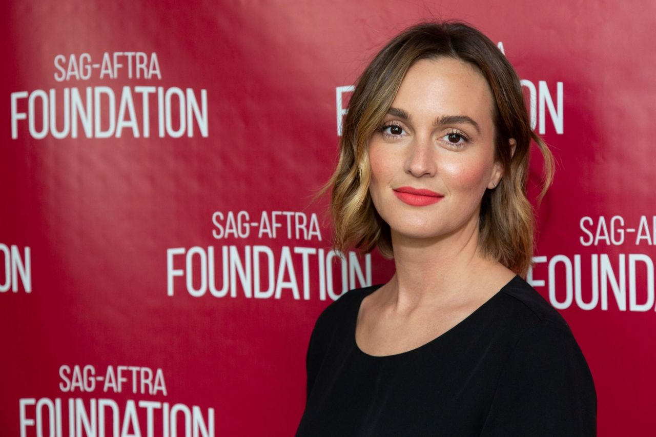 Leighton Meester SAG-AFTRA Foundation Conversations with Single Parents